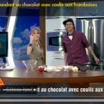 Gâteau fondant revisité @ V-Télé