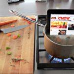 ipad + cuisine
