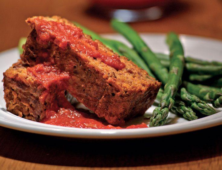 Pain de viande végétarien