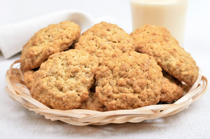 Biscuits à la farine d'avoine et aux noix de coco