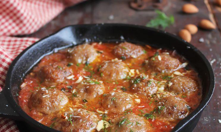 Boulettes de boeuf épicées à la tomate