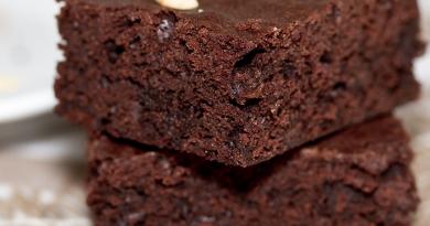 Brownies décadents