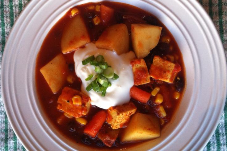 Ragoût de tofu