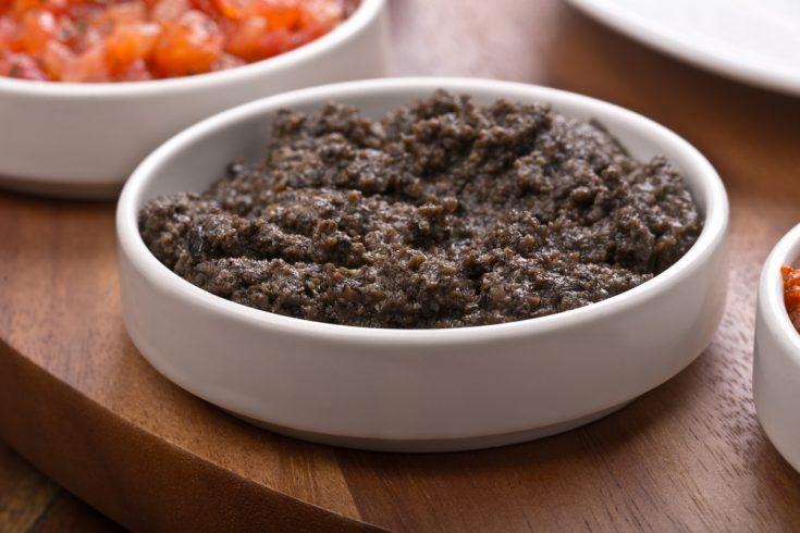 Tapenade d'olives et pistaches
