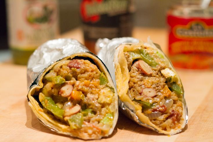 Burritos au boeuf