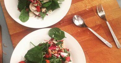 Salade de laitues amères