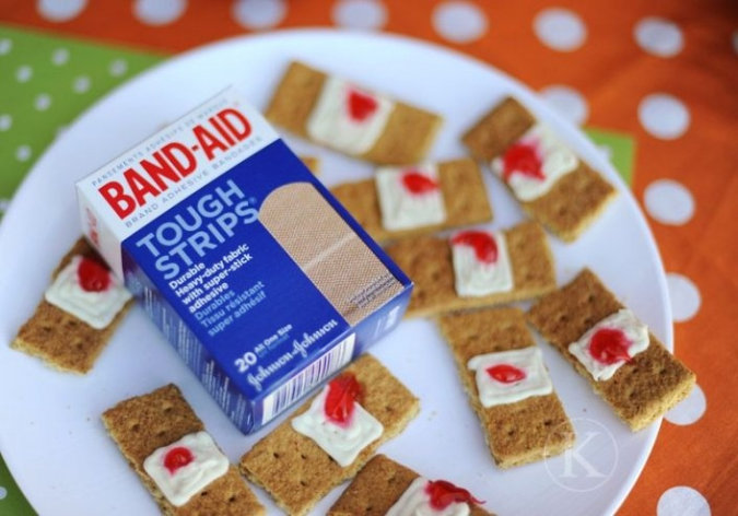 recette-halloween-biscuits-band-aid