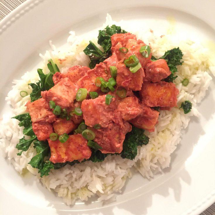 Tofu tandori