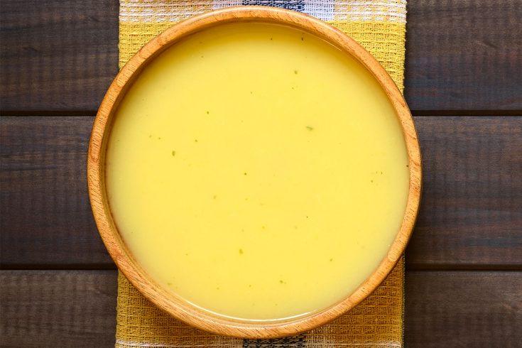 Soupe froide de maïs