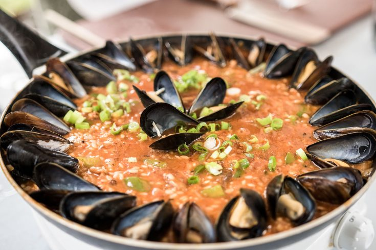 Paella aux grillades