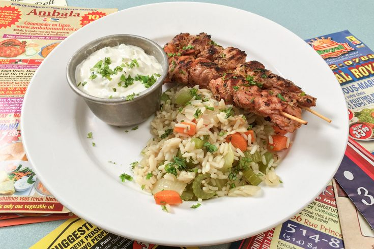 Riz à la grecque comme au restaurant