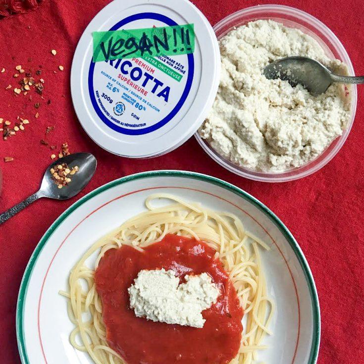 Fromage Ricotta végétalien maison