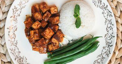 Tofu à la sauce BBQ