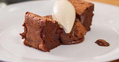 Gâteau au chocolat deux textures