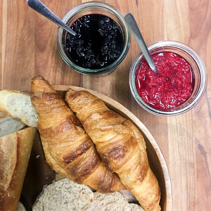 Confiture aux framboises (ou fraise, ou bleuet, ou mûres)