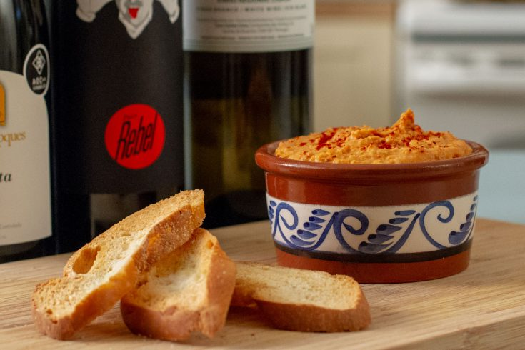 Hummus aux poivrons grillés et épices Piri Piri
