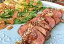 Canard général Tao & bok choy sauce aux arachides