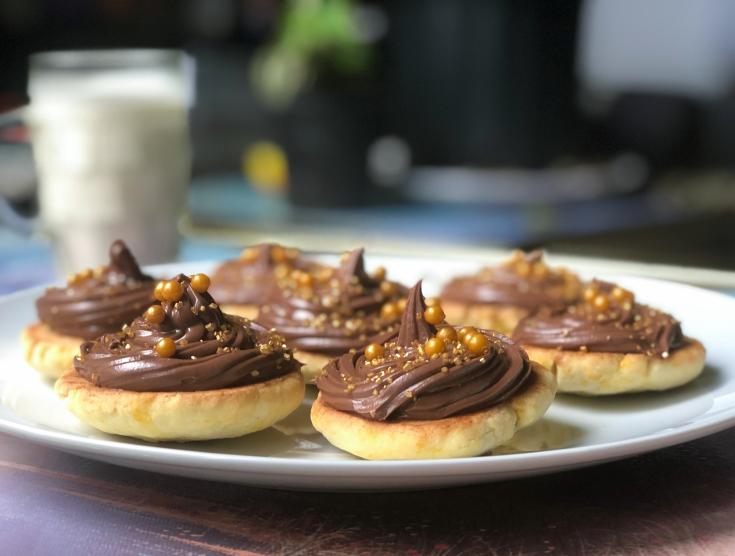 Biscuits à l'orange et au Nutella