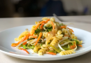Fusilli aux légumes