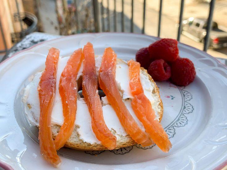 Gravlax de truite (ou de saumon)