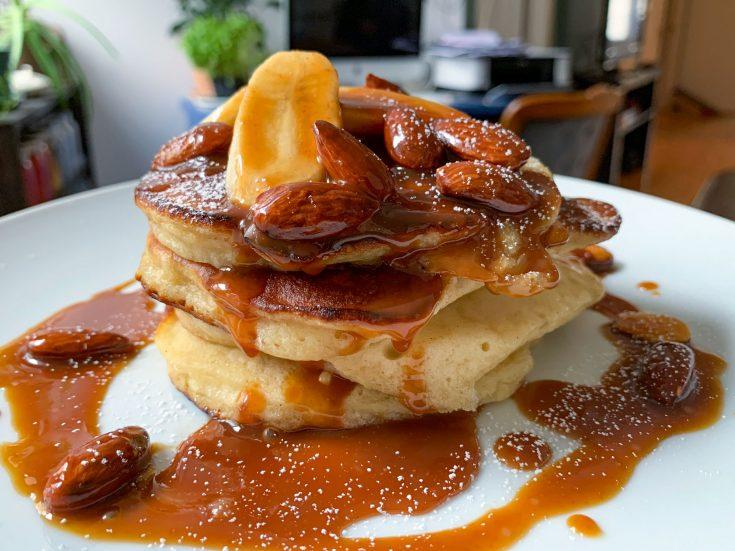 Pancake aux bananes