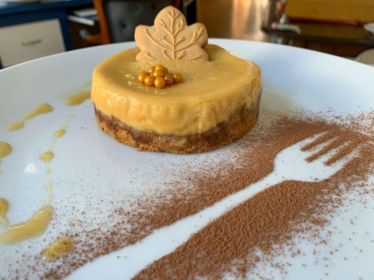Cheesecake (gâteau au fromage) à l'érable