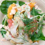 Salade d'agrumes, fenouil et amandes