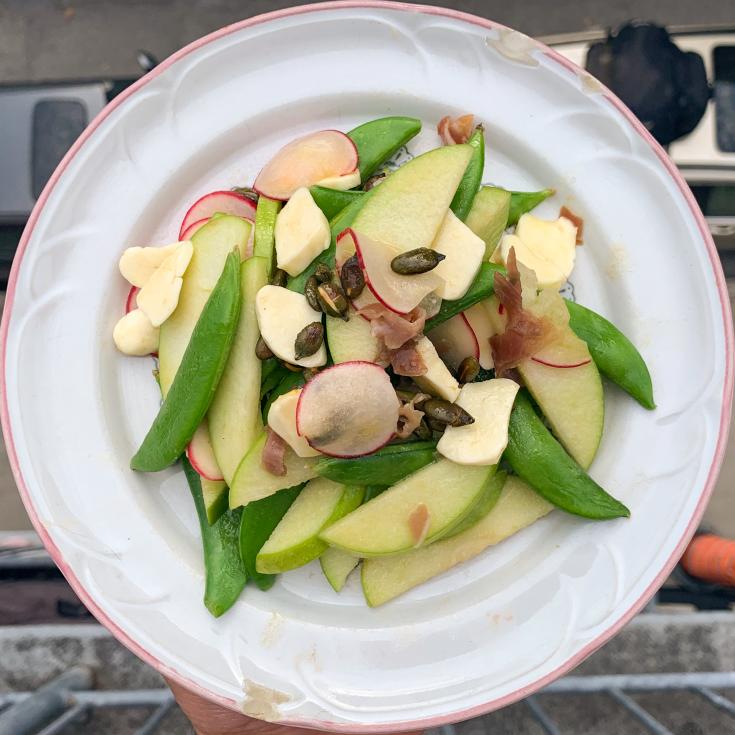 Salade bob-dorf ou waldorf