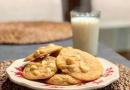 Biscuits aux noix de macadam et chocolat blanc (comme chez Subway)