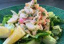 Salade de goberge et de cœur de palmier