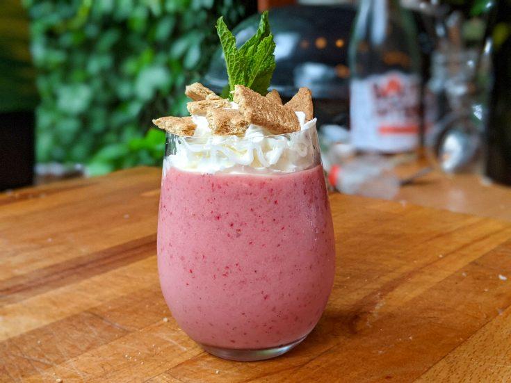 Milk-Cake aux fraises