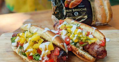 Hot dog à la façon Sonora