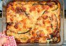 Moussaka de courgettes (zucchini)